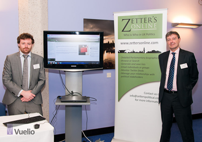 Alec and Lionel Zetter at AIMediaComms's Engaging Stakeholders Seminar III